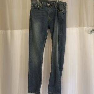 LEVI'S 513 red tag blue jeans 33 x 34